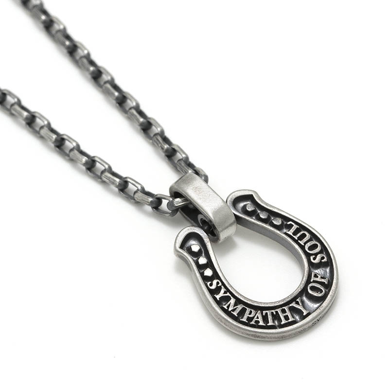 Men's JOKER × SYMPATHY OF SOUL Large Horseshoe Necklace