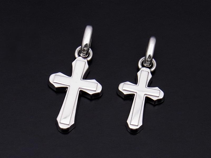 Smooth Cross Pendant